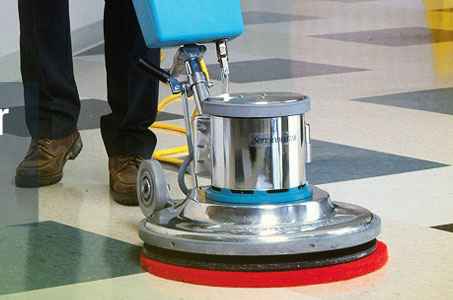 Floor Buffing Service for Properties in Dallas, Texas