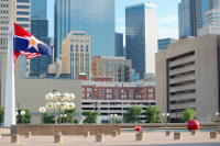 Downtown Dallas office buildings
