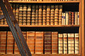 A law library bookshelf